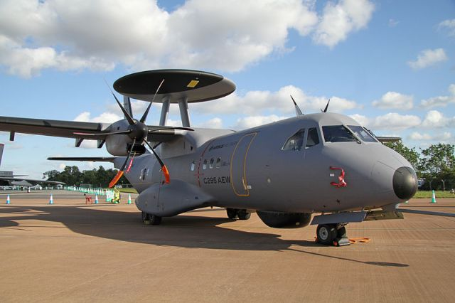 Spanish AEW solution based on EADS/CASA C-295.