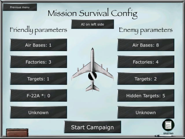 AWACS Tactical Simulator 3.0: Mission Survival